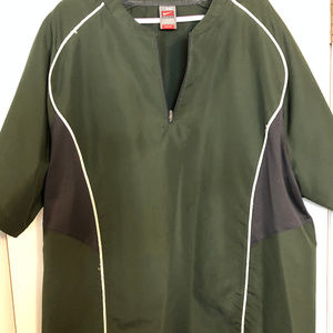 Nike Baseball Batting Jacket Green